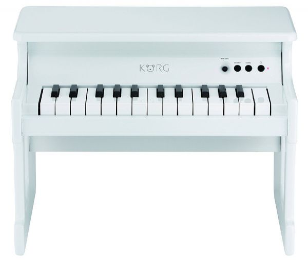Korg TINY PIANO Digital Toy Piano - White - TINYPIANO-WH